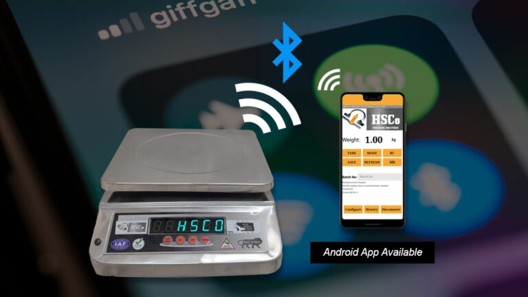 Bluetooth Scale with Android App