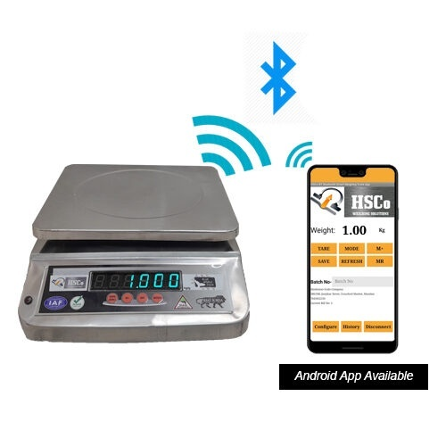 Bluetooth Table Top Scale